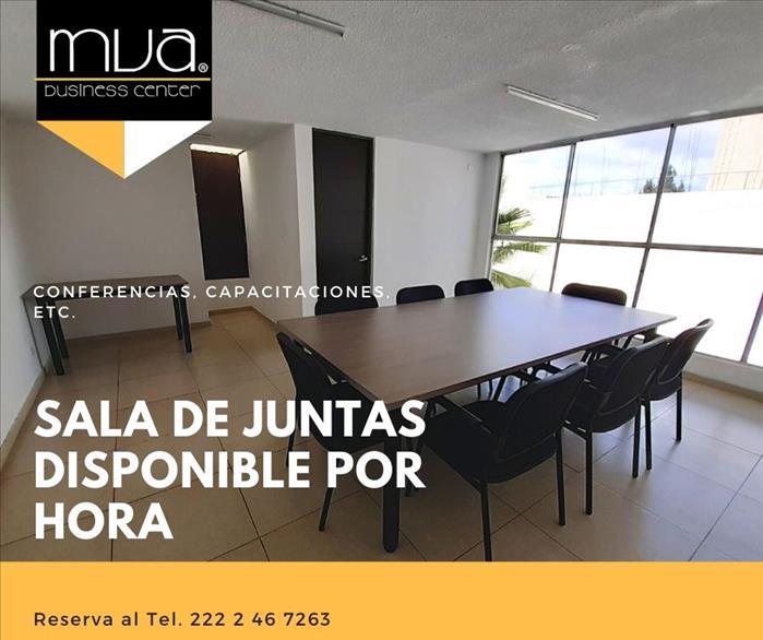 SALA DE JUNTAS Y OFICINA DISPONIBLES POR HORA