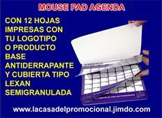 NOVEDOSAS AGENDAS 2021 EN FORMA DE MOUSE PAD