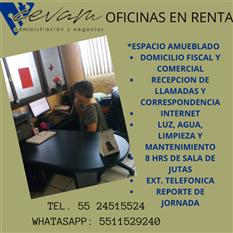 RENTA DE OFICINAS CON ESPACIOS PRIVADOS.