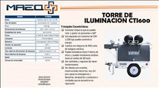 Torre de Iluminacion 4 lamparas