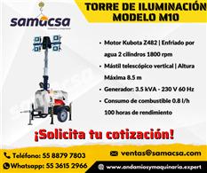 Torre de iluminación Lux M10