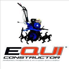 Motocultor mpower con caja de engranajes equiconstructor
