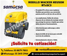 Rodillos Wacker para zanjas