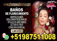 BAÑO DE FLORECIMIENTO ANGELA PAZ +51987511008