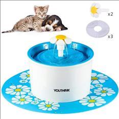 Fuente de agua para perros