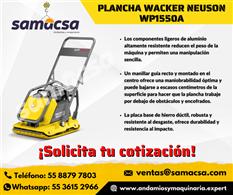 Plancha compactadora Wacker