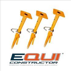 Punta extensible metálico para losas equiconstructor