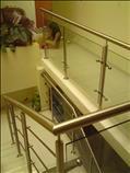 barandales de acero inoxidable para escaleras