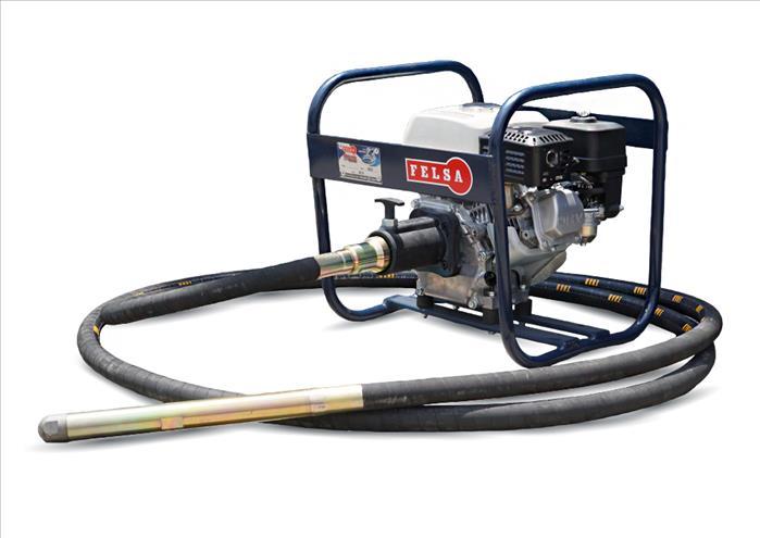 VIBRADOR PARA CONCRETO Motor  Kohler De 6.5 H.P.