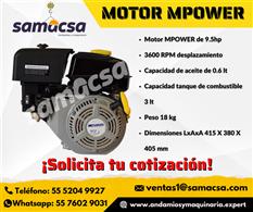 Motor para revolvedora Mpower