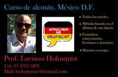 Profesor de alemán. México México D.F.