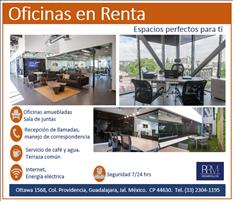 Renta Oficina Premium en Providencia