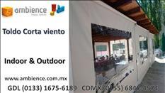 Cortinas Persianas Toldos para exterior en Guadalajara Jalisco Mx