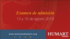 Examen de Admisión Instituto Humart