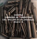 COMPRA DE BROCA DE CARBURO DE TUNGSTENO