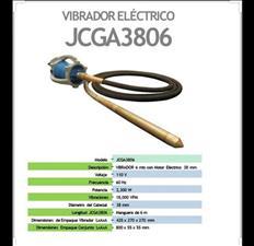 Vibradores de concreto / Electrico MPOWER 110V