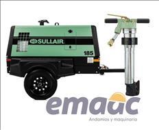 Compresor Sullair modelo 185