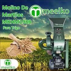 (Trigo) a martillo Molino triturador de biomasa