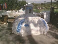 Cupulas prefabricadas y construccion