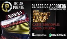 Clases de acordeón norteño y vallenato