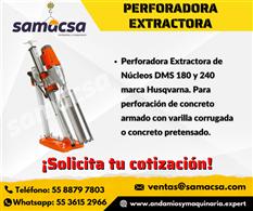 Perforadora Husqvarna extractora DMS240