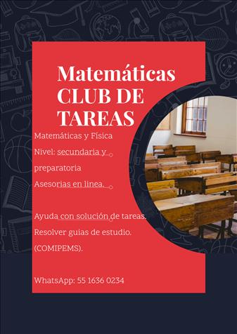 Matemáticas Club De TAREAS