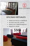 oficinas virtuales con domicilio fiscal $500