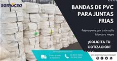 Banda de PVC rollo de 25 mts