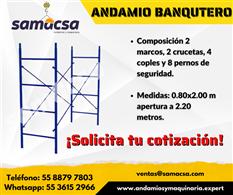 Andamio modelo Banquetero
