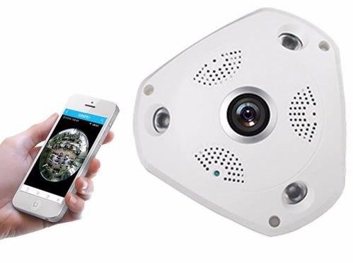 Cámara Empotrada Al Techo Seguridad IP  3MP. Panorámica 360°