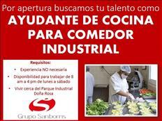 APERTURA DE COMEDOR INDUSTRIAL PARQUE DOÑA ROSA