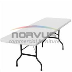 Vendo mesas plegables rectangulares para comedor industrial