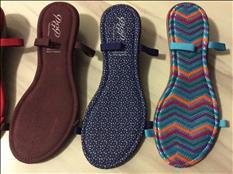 Suelas para tejer sandalias y botas
