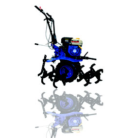 Motocultor Con Motor De 6.5 HP, Transmisión Banda