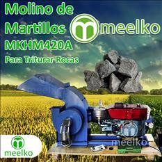 Molino triturador (Triturar Rocas) a martillo diesel