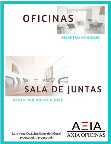 Oficinas Amuebladas En León Cómodas