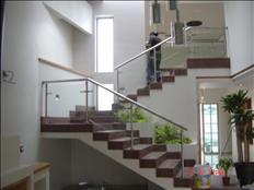 pasamanos para escaleras en acero inoxidable