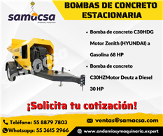 Bomba para concreto samacsa