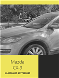 Mazda CX-9 en venta desde $155000