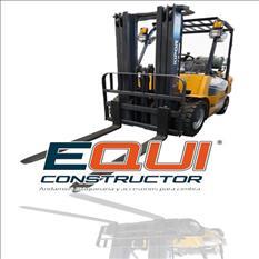 Montacargas para elevación mpower equiconstructor