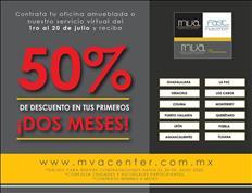 OFICINAS CON 50% DE DESCUENTO