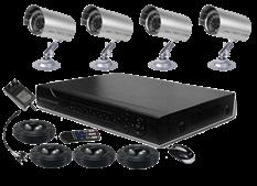 Cámaras de Seguridad Kit 4 Canales