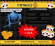 Revolvedora HYPERMAQ | promoción