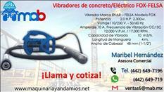 vibrador para concreto Electrico