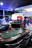 Renta de mesas de casino para eventos.
