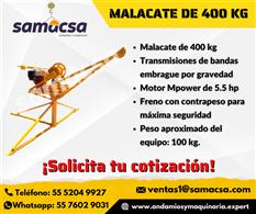Malacate 400 kg