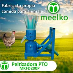 Meelko Peletizadora Máquina   balanceados - MKFD200P
