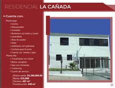 Propiedad en Residencial La Cañada