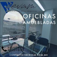 OFICINAS CEVAM DESDE $5,500 CON SERVICIOS INCLUIDOS