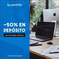 Oficina amueblada en renta en Mexicaltzingo